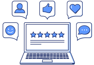 What our Clients Say button linked to Angela L. H. Sayers, CPA Testimominals page