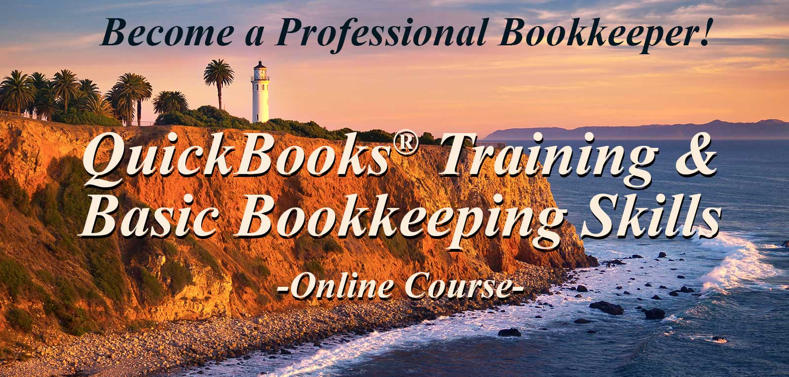 Banner: QuickBooks Training & Basic Bookkeeping Skills Online Course